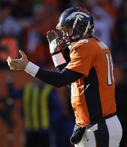 La première place de l'AFC est encore possible pour Peyton Manning et Denver.