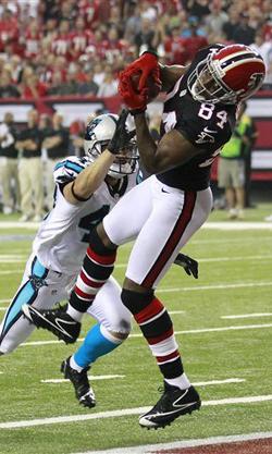 Roddy White ne participera pas à son quatrième Pro Bowl consécutif.