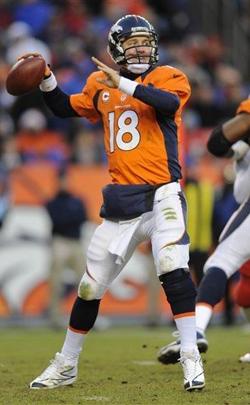 Peyton Manning a réussi sa mission : amener les Broncos en playoff et avec la place de numéro 1 en AFC.