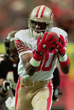 L'arrivée de Jerry Rice en 1985 a permis aux 49ers de devenir une des meilleurs équipes de l'histoire en 89.