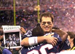 C'est au Superdome que Tom Brady a remporté son premier titre. C'était en 2002, lors du dernier Super Bowl joué à New Orleans.