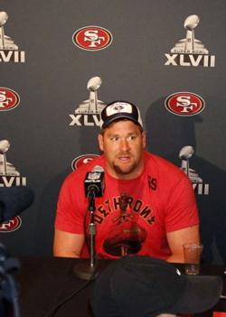 La santé de Justin Smith est une des clés du match pour la défense des 49ers.