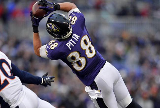 Dennis Pitta blessure Baltimore Ravens