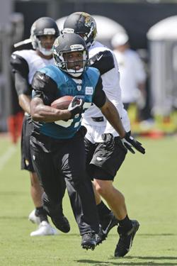 Maurice Jones-Drew va devoir être à son maximum si l'attaque de Jacksonville veut avoir une chance.