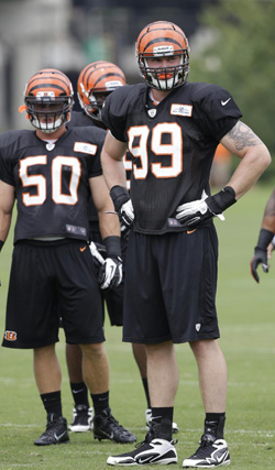 Le rookie Margus Hunt va apporter encore plus de punch au pass rush.