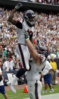 DeAndre Hopkins est la nouvelle perle de Houston. Il faudra qu'il soit brillant face à une énorme défense.
