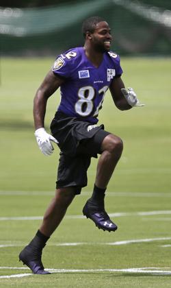 Torrey Smith était trop seul dans l'attaque des Ravens.
