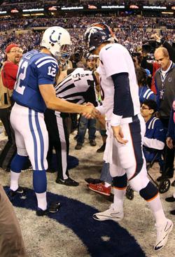 Si Peyton Manning a été ovationné, le passage de témoin semble bien avoir eu lieu à Indianapolis.