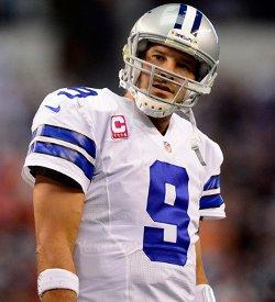 """""""Mais pourquoi ai-je lancé cette passe?"""" se dit Tony Romo"""