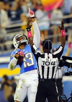 Keenan Allen a été la star de la rencontre avec le seul touchdown du match