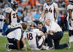 Peyton Manning à terre, le cauchemar de tous les fans des Broncos