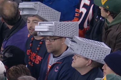 bears fans cheese graters