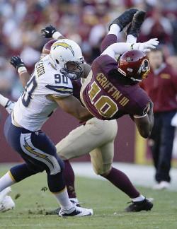 Robert Griffin III fait peur à tout le monde dès qu'il part en courant. Mais les Redskins lancent une excitante deuxième partie de saison dans son sillage.