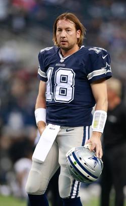 Les espoirs des Cowboys reposent en partie sur les épaules de Kyle Orton.
