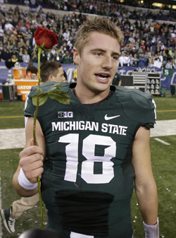 Le quarterback Connor Cook a mené Michigan State à son premier Rose Bowl depuis 1988.