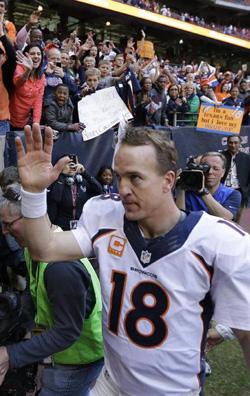 Avec 51 touchdowns cette saison, Peyton Manning rentre encore un peu plus dans l'histoire.