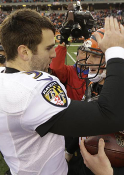 Andy Dalton et Joe Flacco ont multiplié les interceptions.