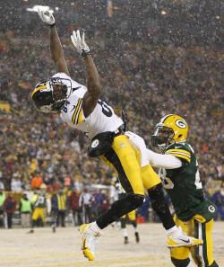 Antonio Brown vient d'être élu MVP des Steelers par ses coéquipiers. Et ce n'est pas une note artistique...