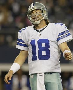 Le quarterback est différent, mais les supporters de Dallas connaissent trop bien cette expression faciale.