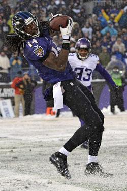 Le touchdown de la victoire est venu de Marlon Brown la semaine passée.