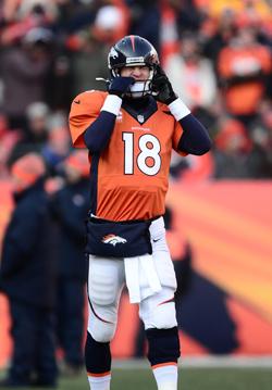Le froid et les playoffs ? Deux paramètres qui ne réussissent pas toujours à Peyton Manning.