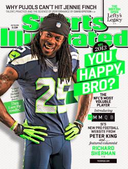 Sa tirade anti-Brady lui vaudra la Une de Sports Illustrated