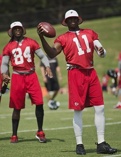 Julio Jones et Roddy White détiennent l'avenir des Falcons entre leurs mains.
