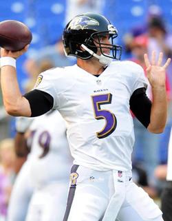 Joe Flacco a été efficace dans le nouveau schéma offensif de Baltimore.