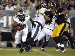 LeSean McCoy a marqué un touchdown de 22 yards.