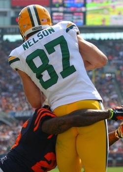 Jordy Nelson a fait mal aux Bears dimanche dernier