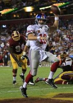 5 touchdowns et une 2e victoire pour Eli Manning