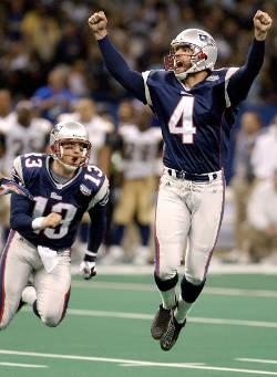 Le numéro 4, comme le nombre de Super Bowls remportés par Adam Vinatieri.