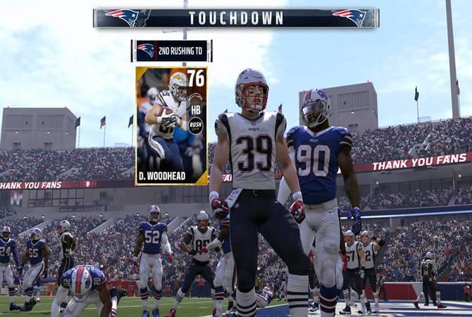 Touchdown Madden 17 UT
