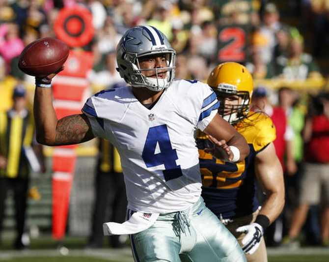 Cowboys Packers Football