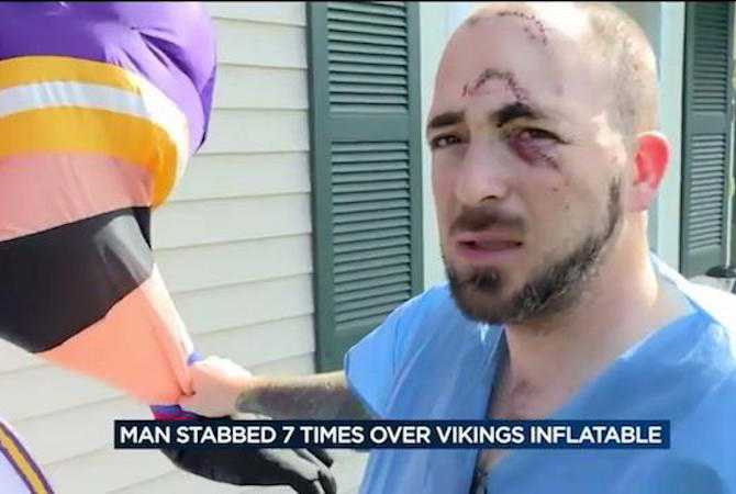 minnesota-fan-in-packers-territory-stabbed-over-inflatable-vikings-mascot