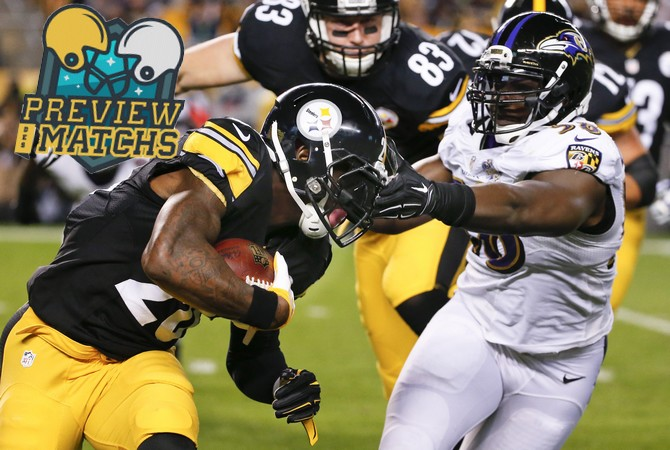 Le'Veon Bell_Steelers_Pittsburgh_Ravens