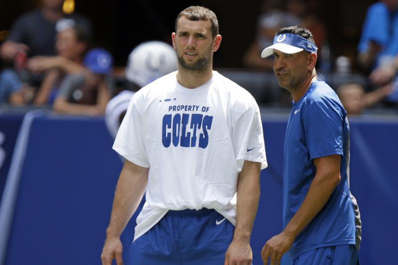 Colts : saison terminée pour Andrew Luck ! | Touchdown ...