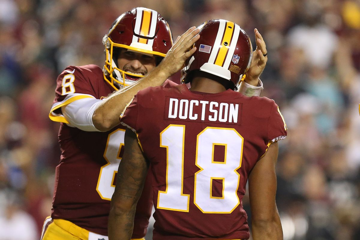 Les Redskins s'amusent face aux Raiders