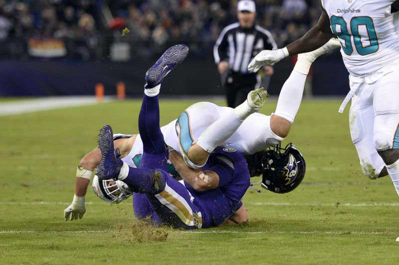Les Ravens s'imposent même en perdant Joe Flacco