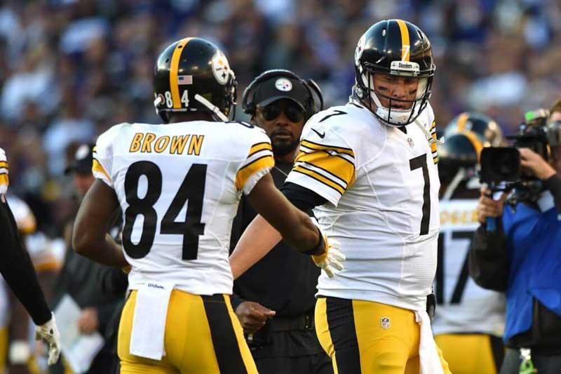 Bien-aimé Steelers : Antonio Brown de retour à l'entraînement ?   Touchdown  PO92