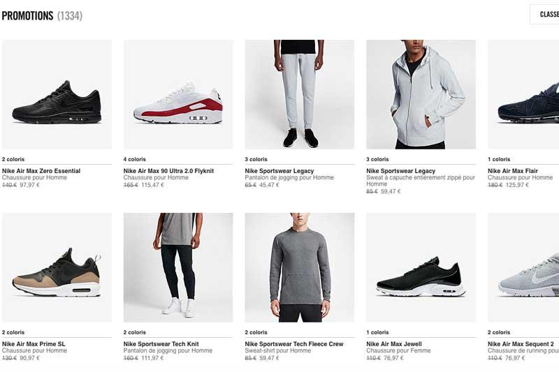 sneakers for cheap 73cde 07a3d promo -25% supplémentaires sur les produits Nike en promo – Touchdown  Actu (NFL Actu) – News, analyses et résultats de la NFL