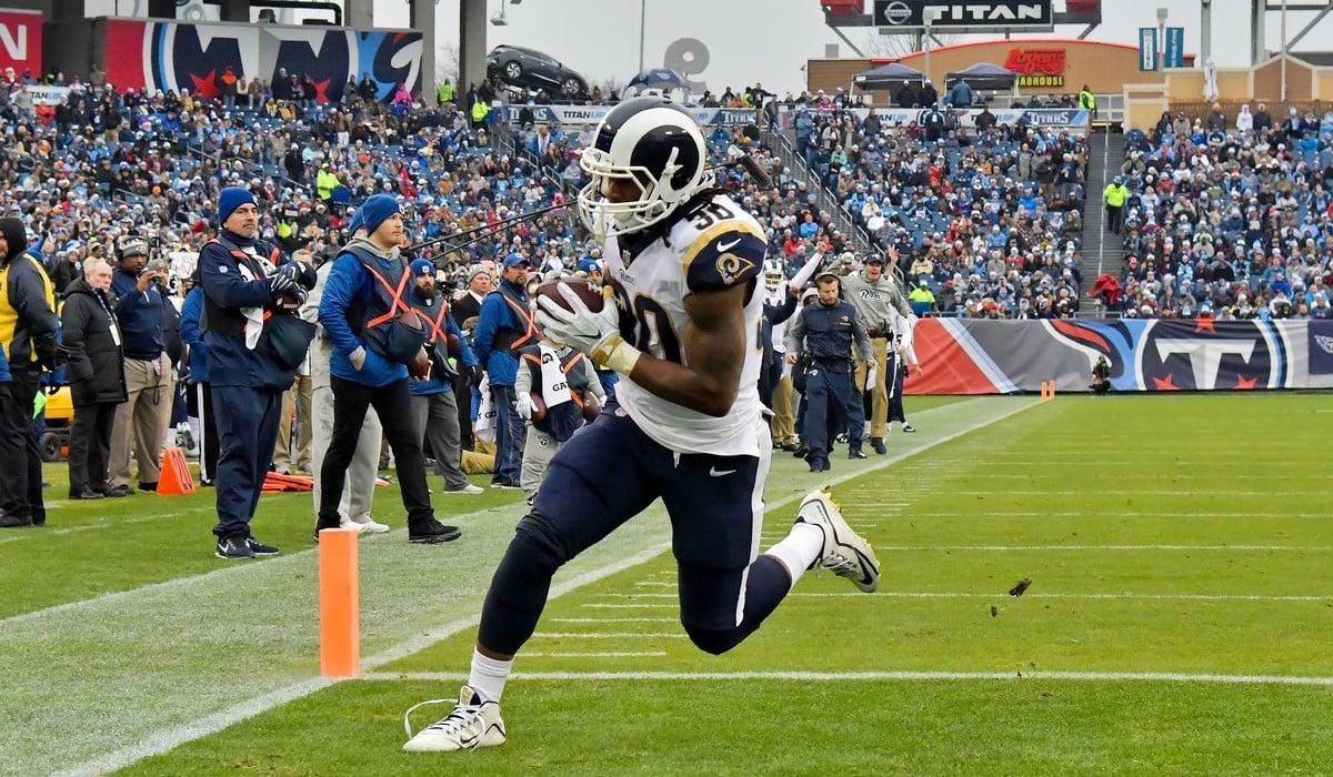 Titans Rams 23 27 Todd Gurley Envoie Los Angeles En