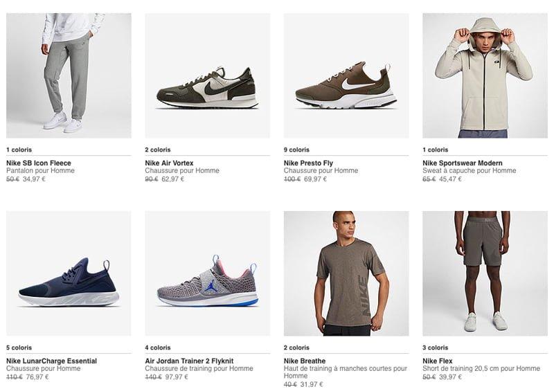 baa53e89140  promo  Jusqu à -30% sur une sélection de produits Nike – Touchdown Actu  (NFL Actu) – News
